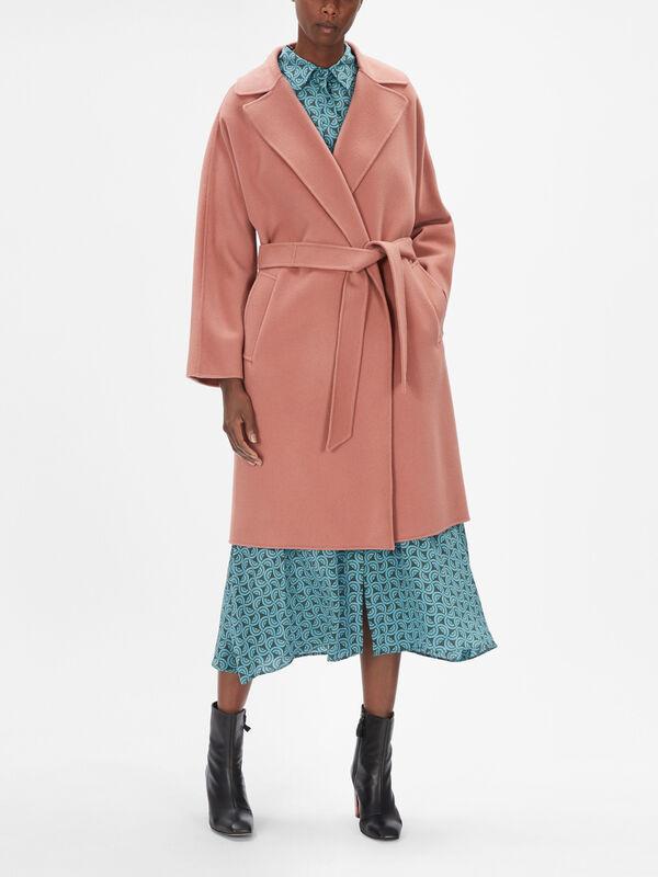 Tanga Wool Belted Wrap Coat