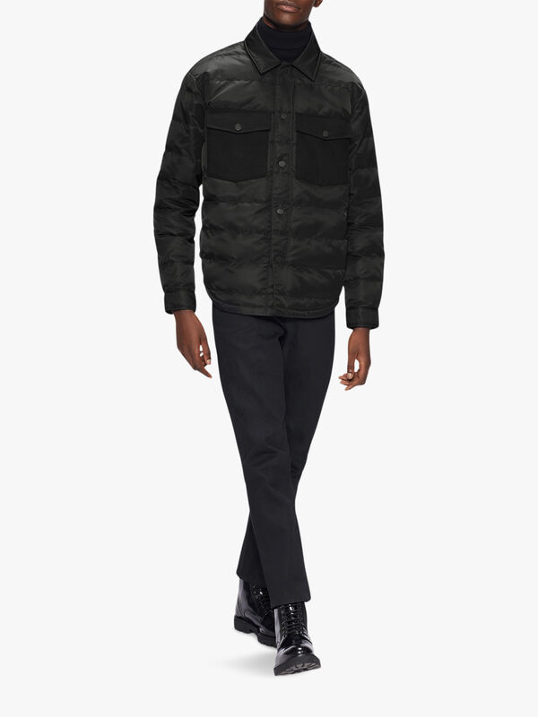 VELOSTY Quilted Overshirt