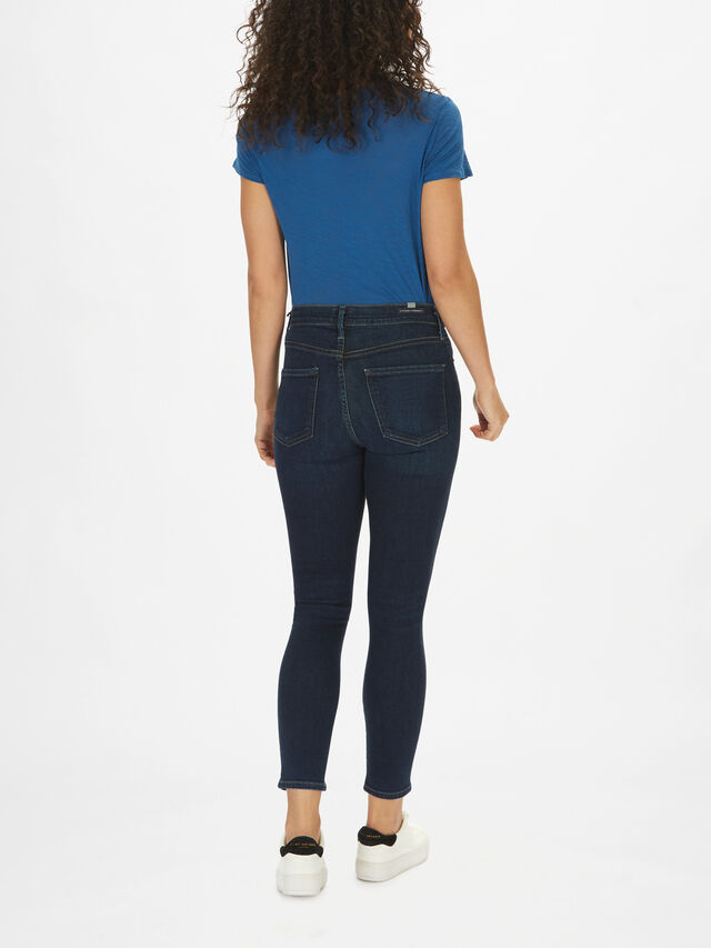 Rocket Crop High Rise Skinny Jeans