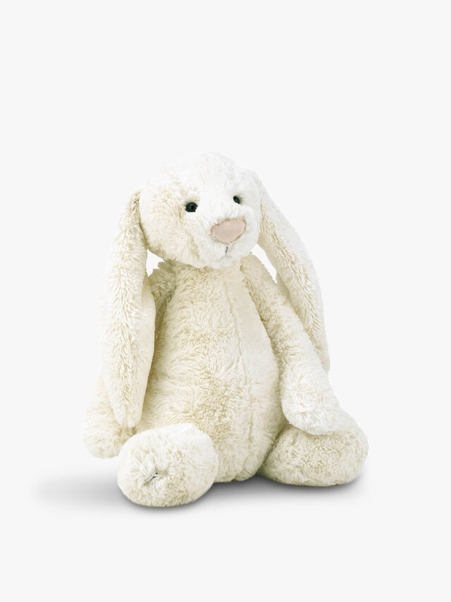 Bashful Cream Bunny Large