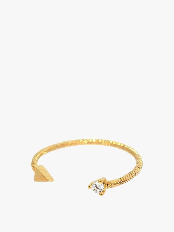 Adjustable Snake Band Ring