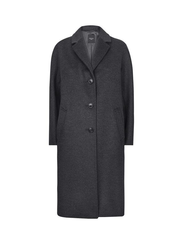 Funale Single Breast Wool Coat