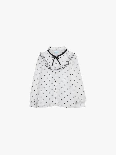 Stars-gauze-flock-blouse-5622