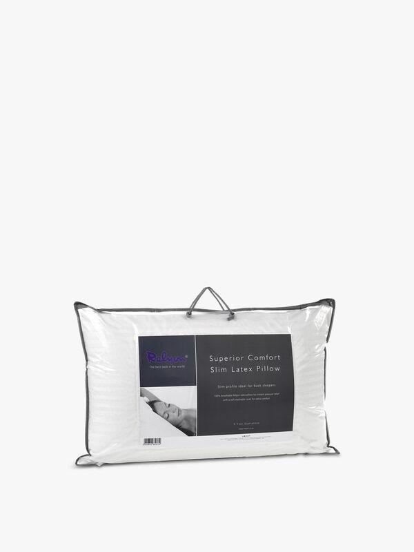Superior Comfort Slim Latex Pillow