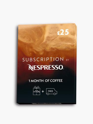 Nespresso Coffee Subscription Box