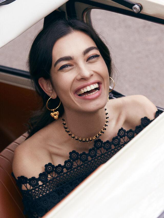 Minerva Hoop Earrings