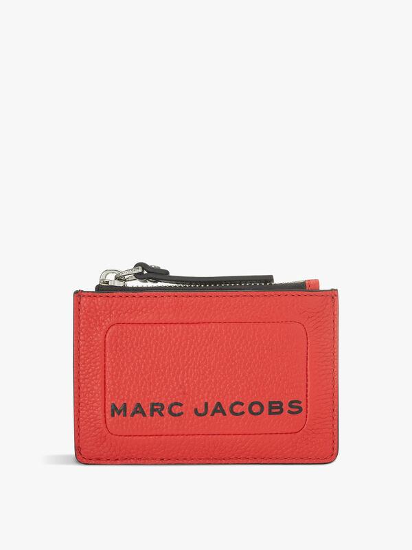 The Textured Box Top Zip Multi Wallet