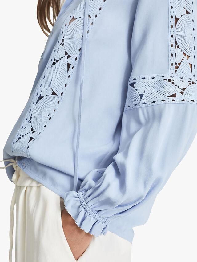 Dottie Lace Detail Blouse