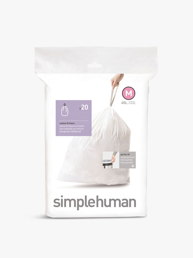 Custom Fit Bin Liners Pack Of 20