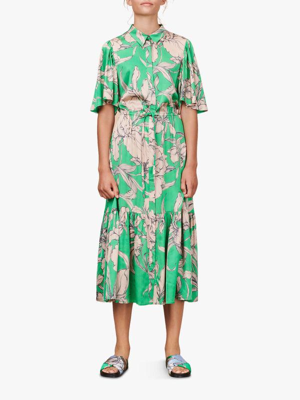 Tanta Floral Tired Long Dress