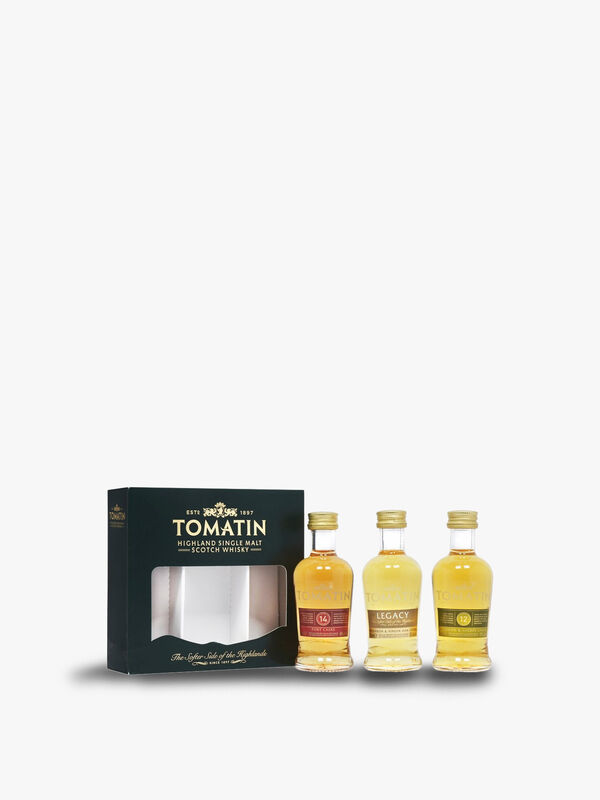 Tomatin Malt Whisky Miniature Gift Set