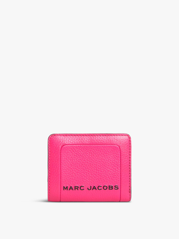 The Textured Box Mini Compact Wallet