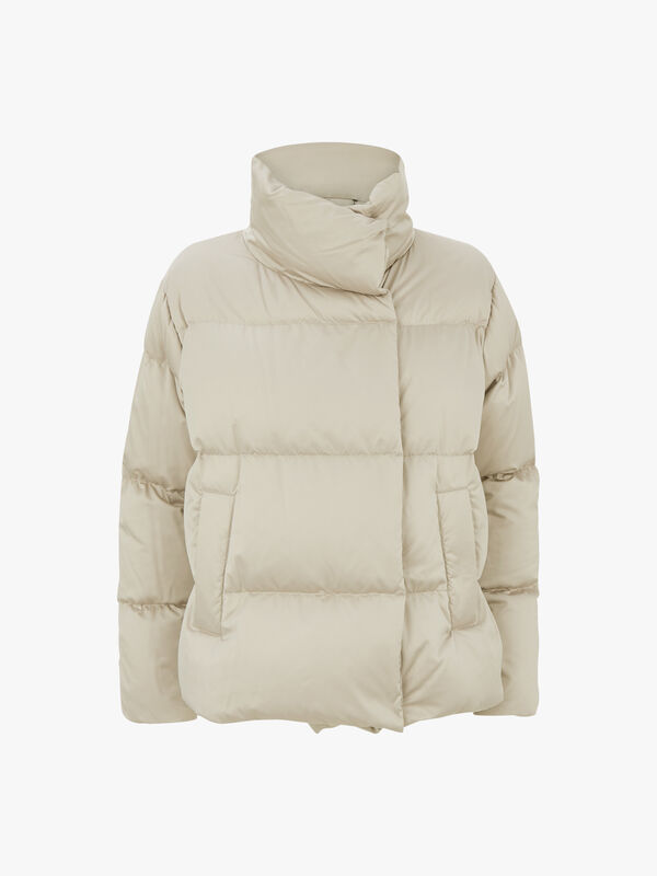 Sesia Funnel Neck Quilted Jacket