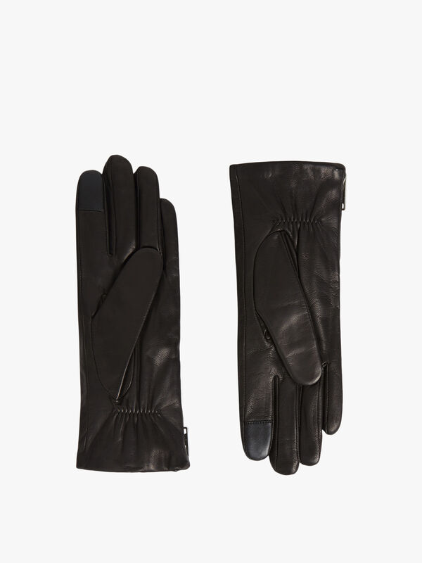 Zipper-Leather-Touch-Gloves-WQ004P