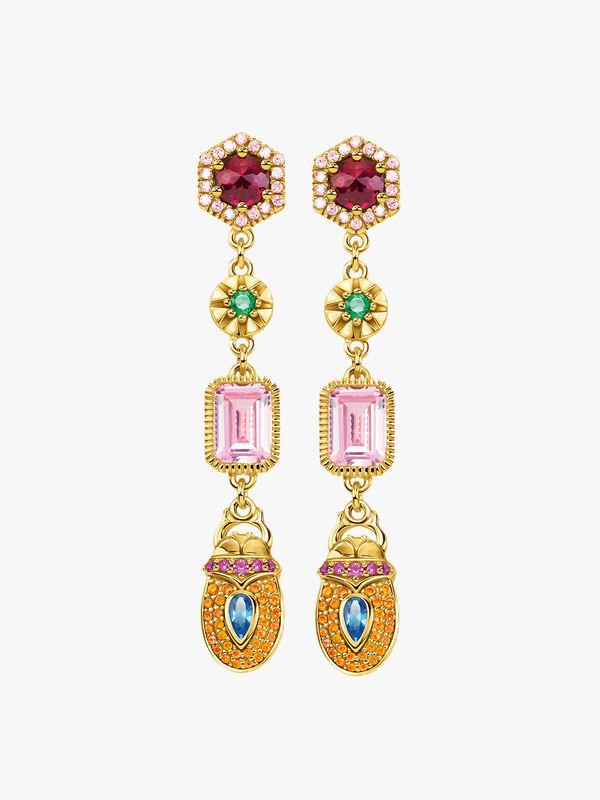 Magic Stones Multi Drop Earrings