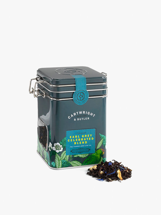 Earl Grey Tea Caddy