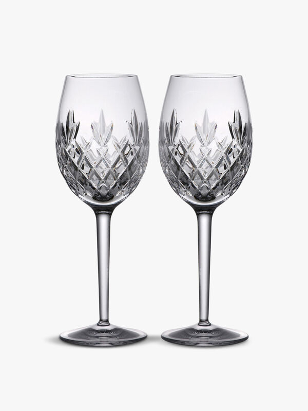 Plaza Wine Glass Pair