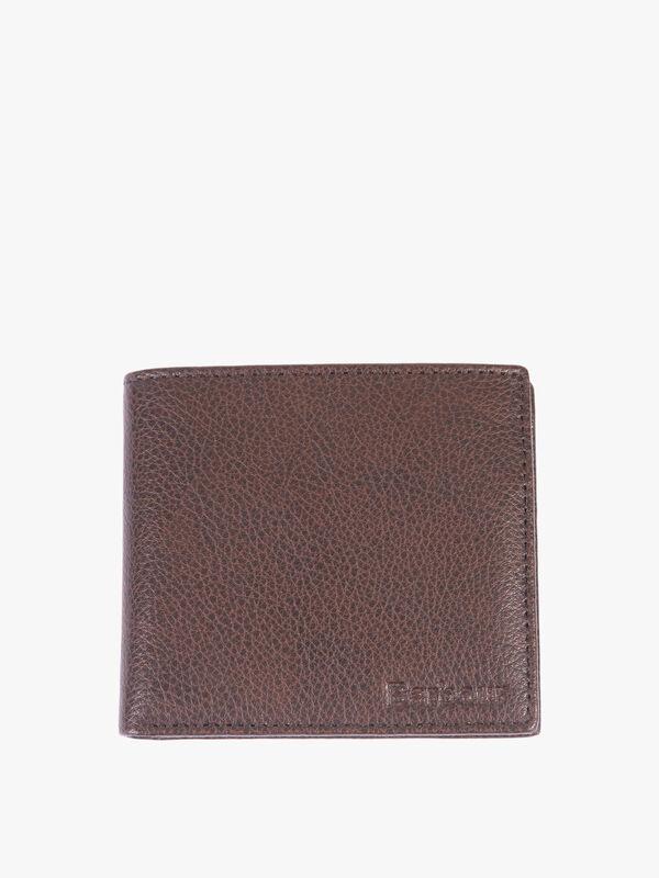 Peterlee Leather Billfold Coin Wallet