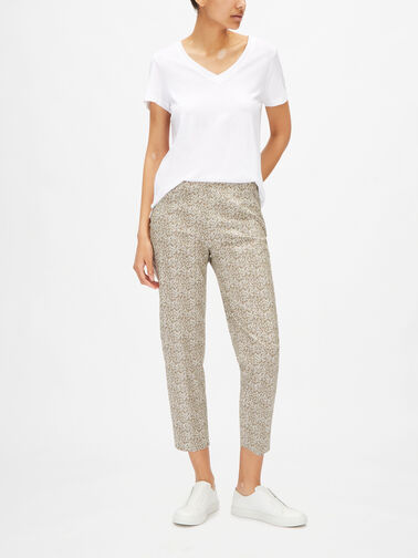 Audrey-Microprint-Cropped-CottonTrouser-PP315M0S3553