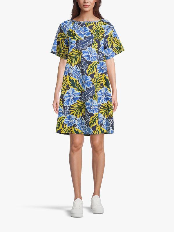 Cabreo Short Sleeve Knee Length Shift Dress