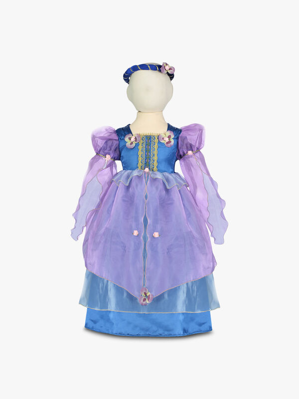 Orchid Flower Maiden Dress - Age 6-8 Years
