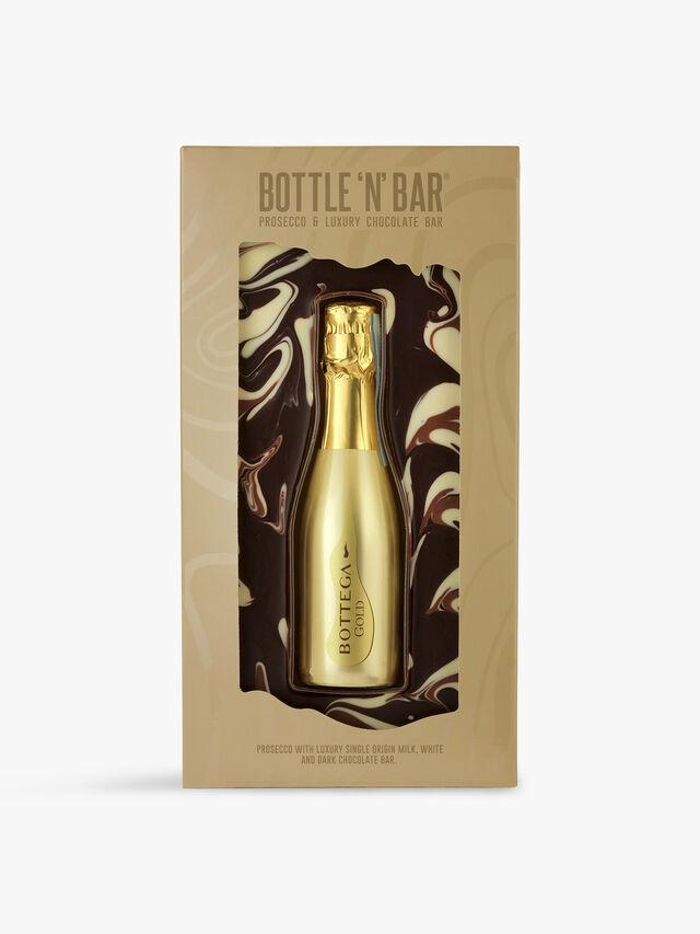 Bottle N Bar with Gold Bottega