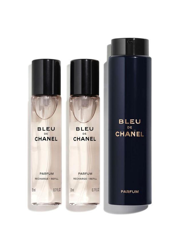 BLEU DE CHANEL Parfum Twist and Spray 3x20ml