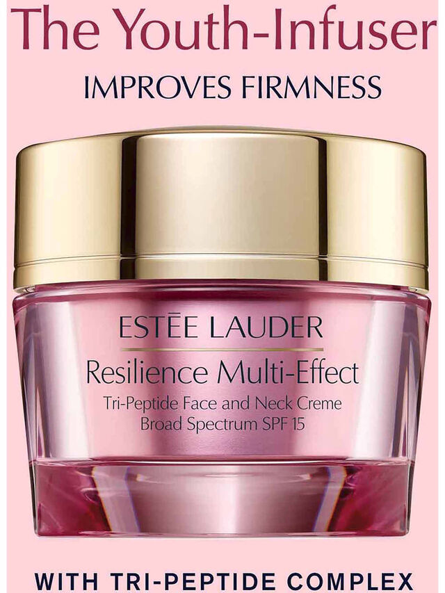 Resilience Lift Multi-Effect Tri-Peptide Face and Neck Moisturiser Crème SPF15 50ml