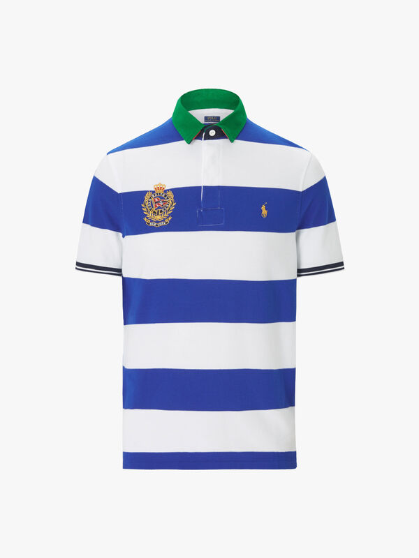 Stripe Contrast Polo
