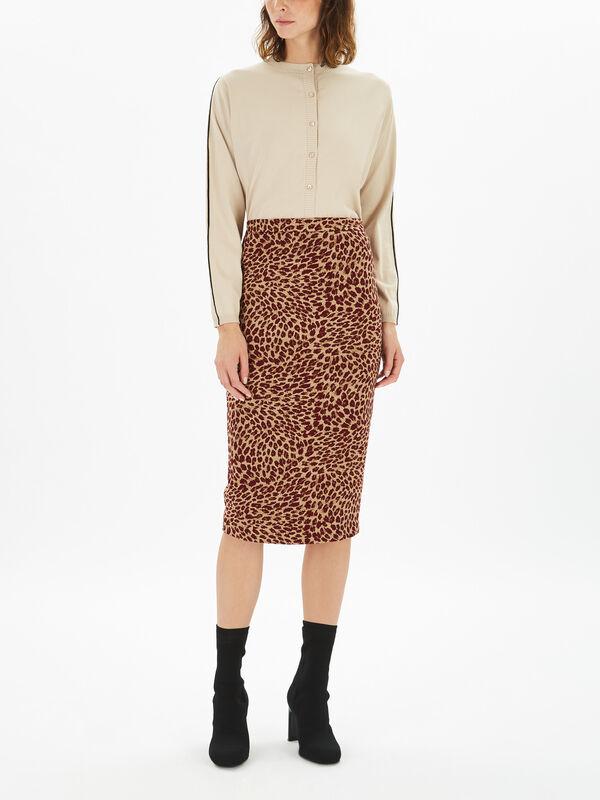 Vasto Jersey Skirt
