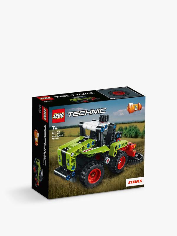 Technic Mini CLAAS XERION Tractor Harvester 2in1 Set