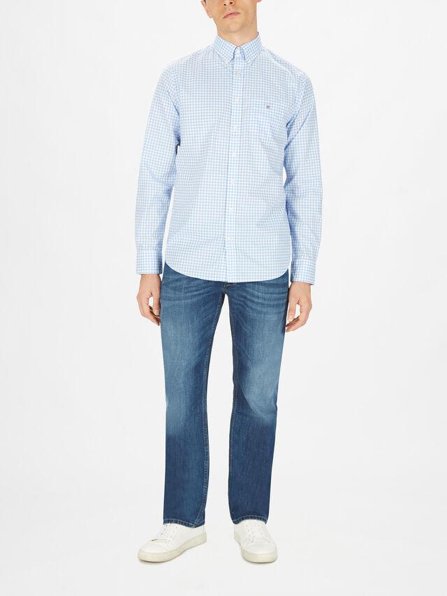 Gingham Check Broadcloth Shirt
