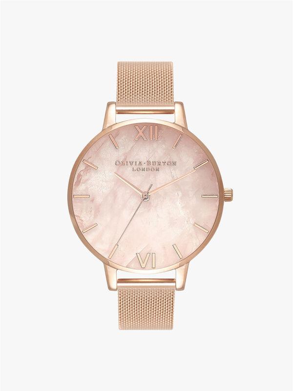 Semi Precious Bracelet Watch