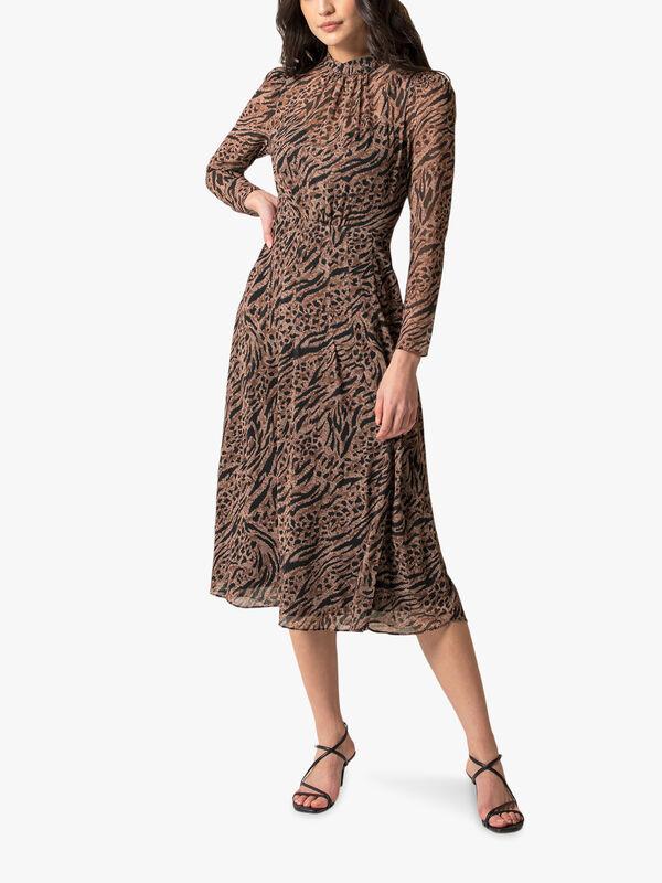 Paige Long Sleeve Midi Dress