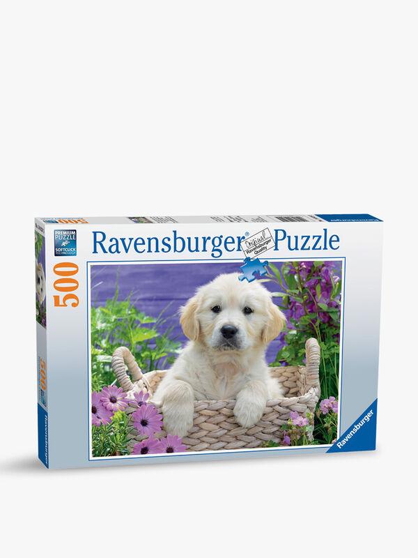 Sweet Golden Retriever Puzzle 500pc