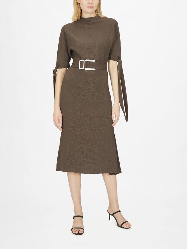 Pedernal Dress with Ties