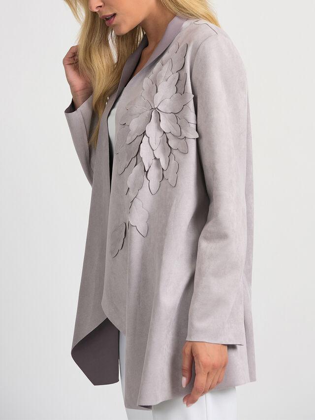 Suedette Lazercut Jacket