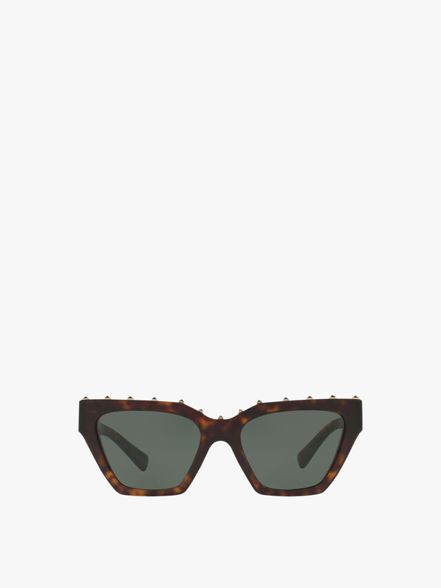 Stud Brow Sunglasses