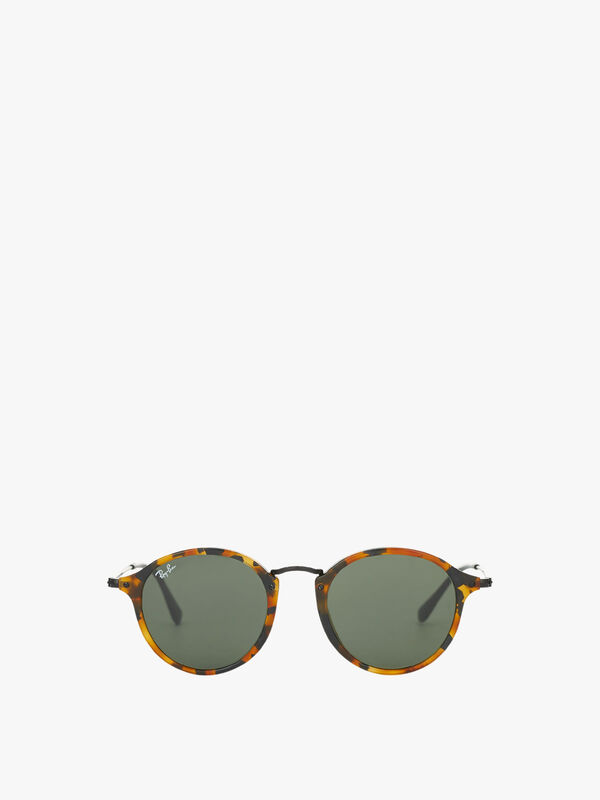 Round Metal Bridge Sunglasses