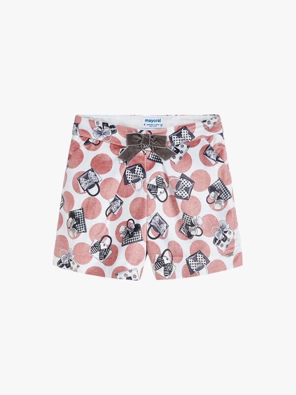 Handbag Print Shorts