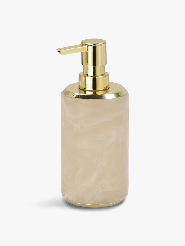 Cloudy Gold Soap Dispenser