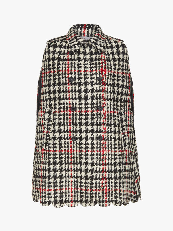 Scallop Edge Dogtooth Cape