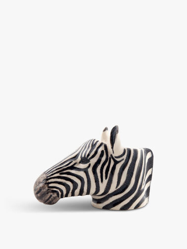 Zebra Face Egg Cup Pair