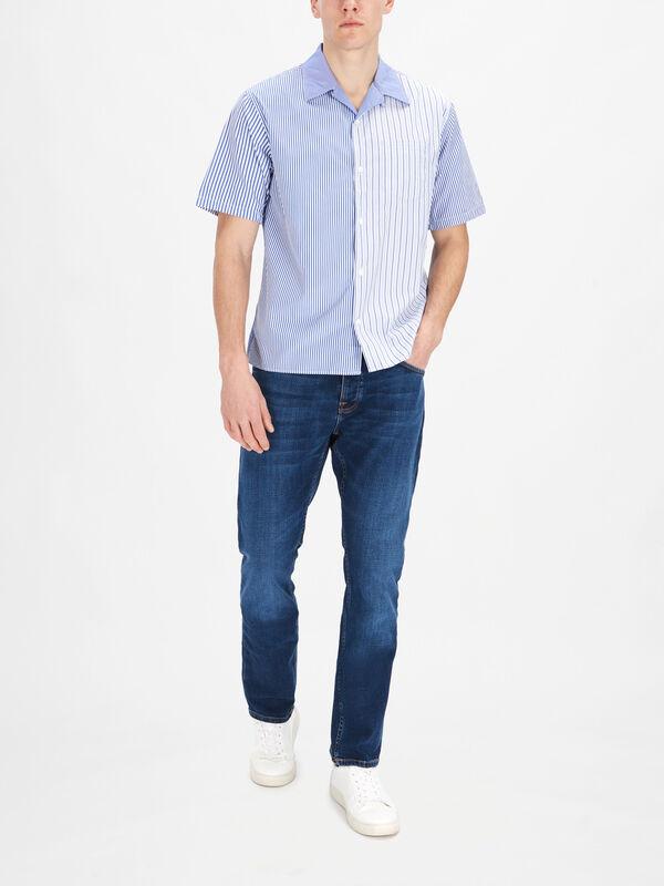 Shortsleeve Carsten Stripe Shirt