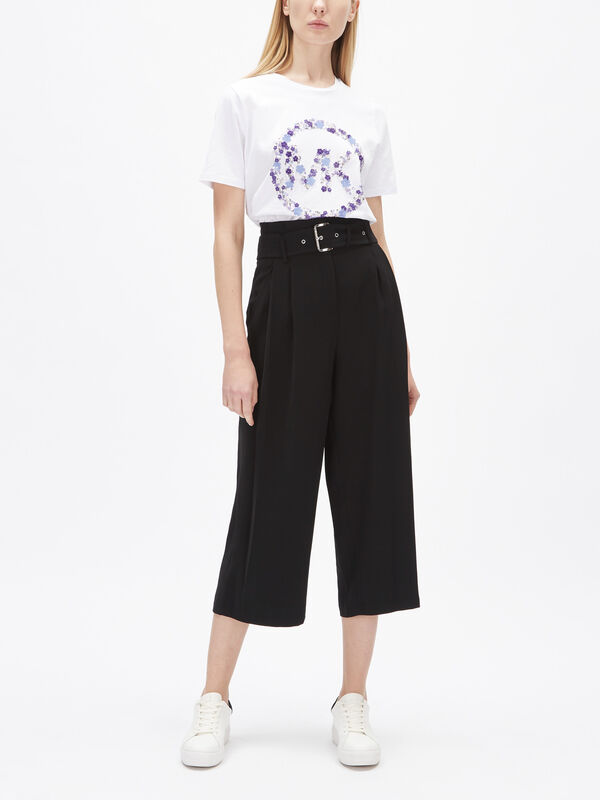 Paperbag Pleated Culotte