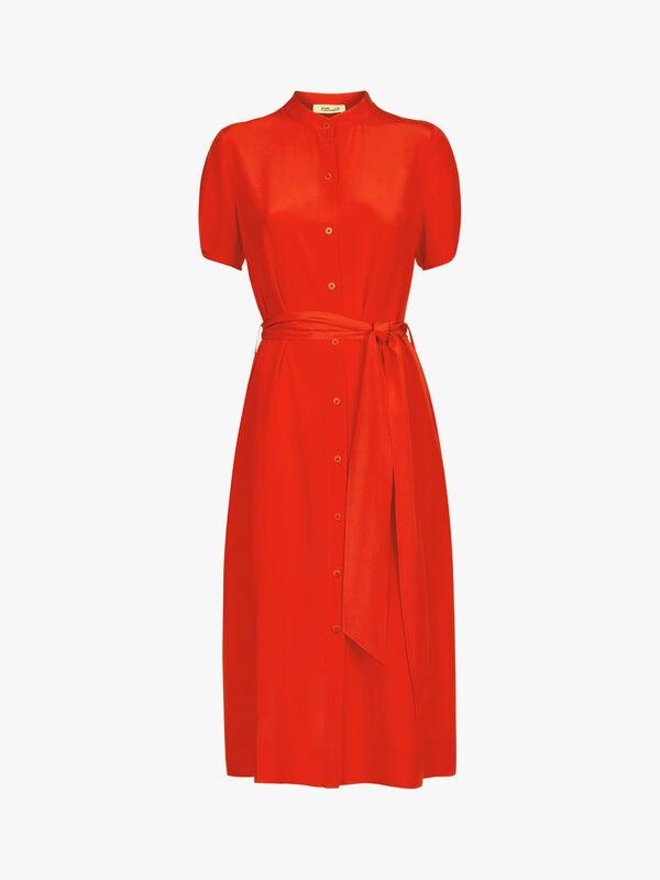 Addilyn Midi Shirt Dress