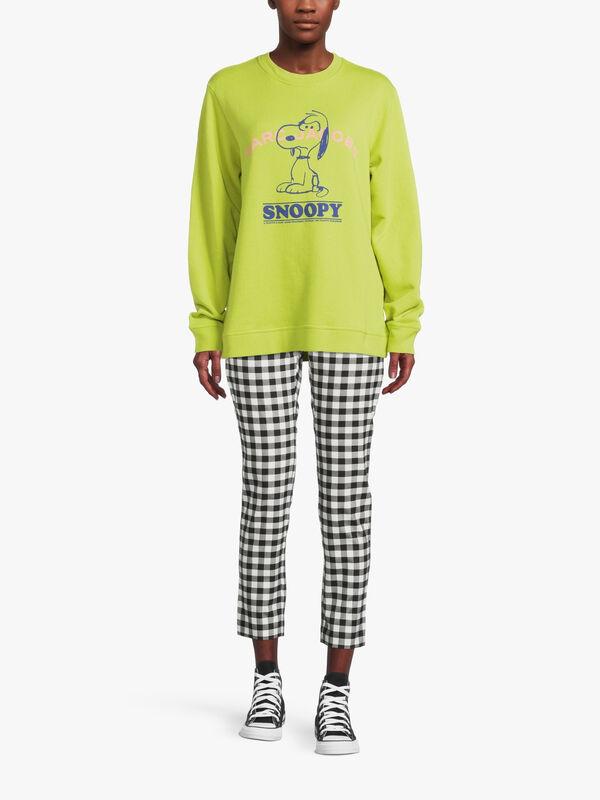 MJ Peanuts I Feel Mean Crew Sweatshirt