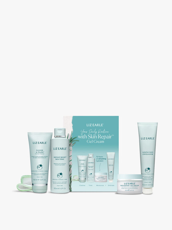 Your Daily Routine with Skin Repair Gel Cream Kit
