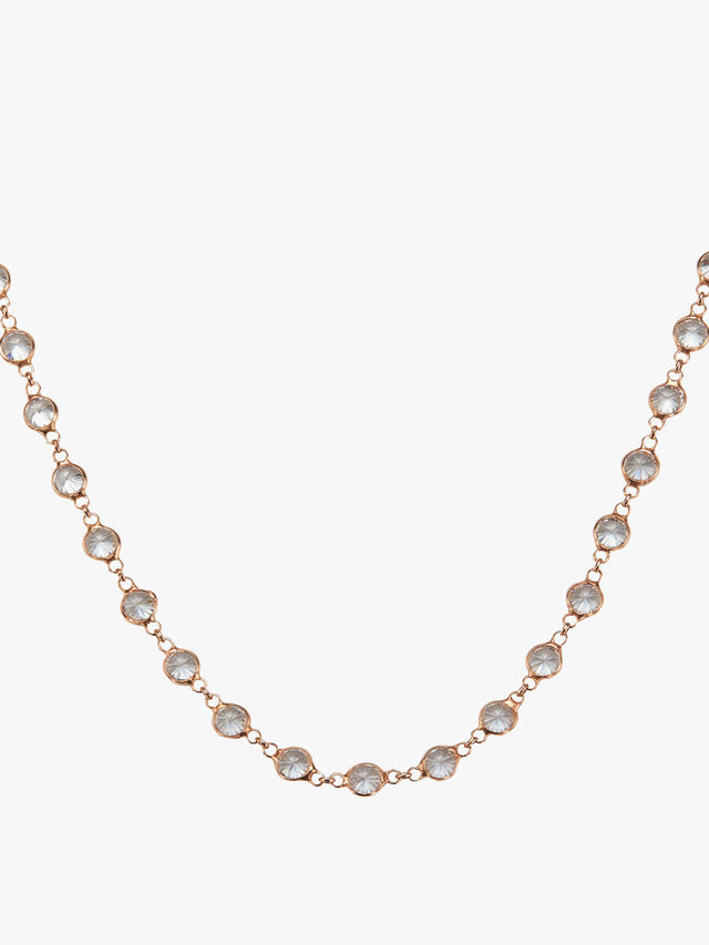 Mayfair Heavy Crystal Necklace