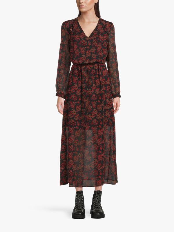 Parisian Rock Esquisse Midi Dress